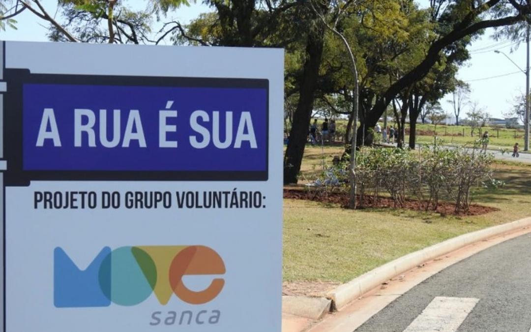 PROJETO 'FECHA' RUA EM SÃO CARLOS PARA A POPULAÇÃO APROVEITAR
