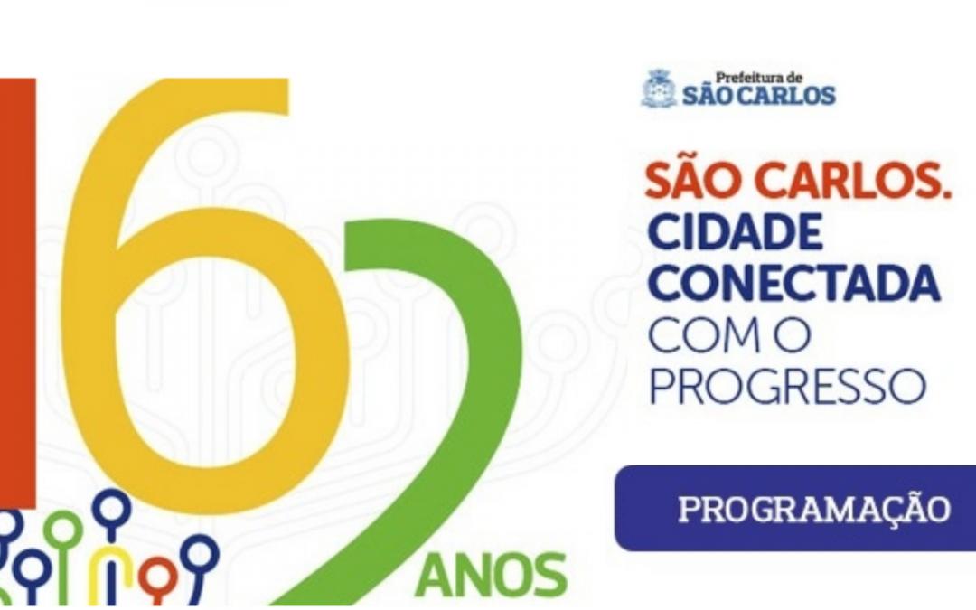 PROGRAMAÇÃO ANIVERSÁRIO DE SÃO CARLOS