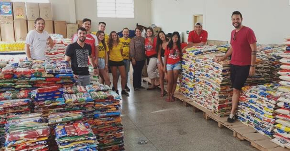 TUSCA SOCIAL ARRECADA 20 TONELADAS DE PRODUTOS