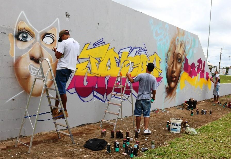 PREFEITURA ABRE VAGAS DE CURSOS DE GRAFITE, DESIGN DE MODA E PAISAGISMO